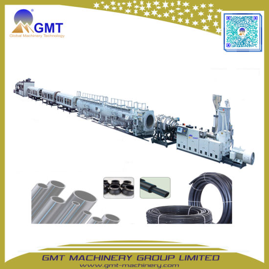 PE63-800 PP Water/Gas-Supply Plastic Pipe/Tube Extruding Machine