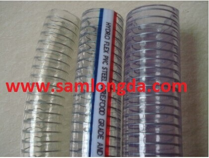 Clear PVC Steel Wire Hose with High Quality pictures & photos