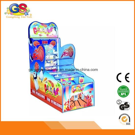 Arcade Hoops Cabinet Children Carnival Mini Basketball Game Machine for Sale