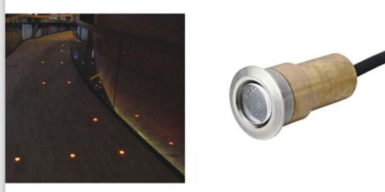 IP67 LED Buried Ground Underground Light for Pavement Outdoor Stair Steps pictures & photos