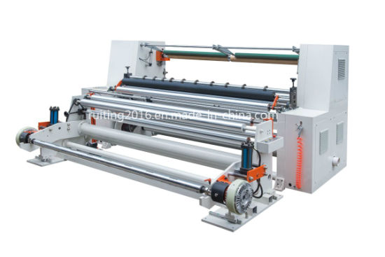Rtfq-1300 New Model Wide Roll PVC Film Paper Slitting Machine