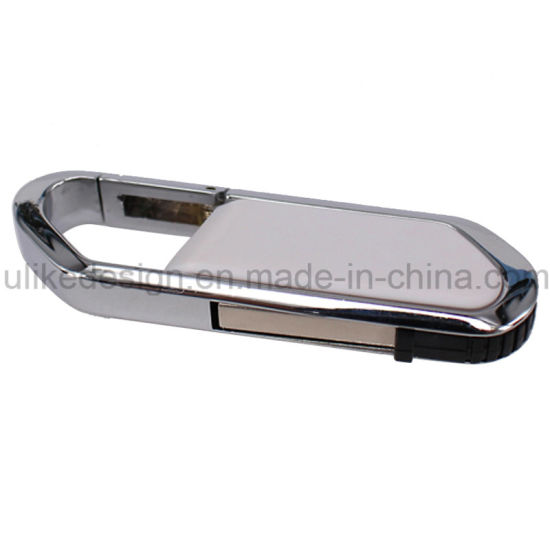 Print Your Own Logo on Silver Swivel USB Flash Disk/ Flash Drive (UL-M009) pictures & photos