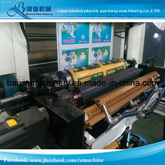 6 Inks Flexographic Printing Machine (1 meter) pictures & photos