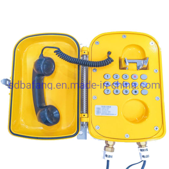 Corded Explosion Proof Intrinsically Safe Phone Explosion Proof IP Amplification Phone Made in China pictures & photos