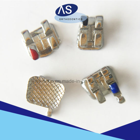 Orthodontic Metal Brackets 0.022 Metal Brackets with Ce FDA ISO13485 CNC Brackets pictures & photos
