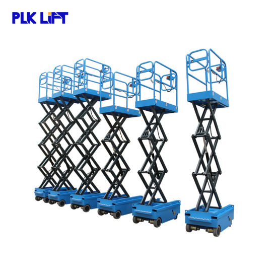 3m Compact Narrow Ladder Lift Hydraulic Scissor Lift