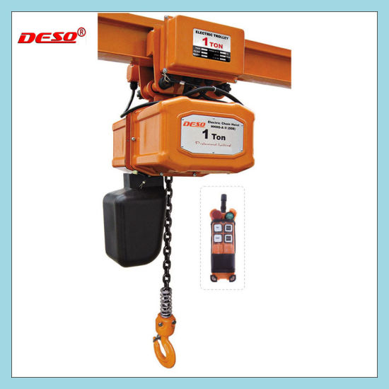 1-5t Electric Chain Hoist / Block pictures & photos