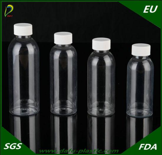 Bottle Packaging Pet Medicine Plastic Liquid Bottle with Cap