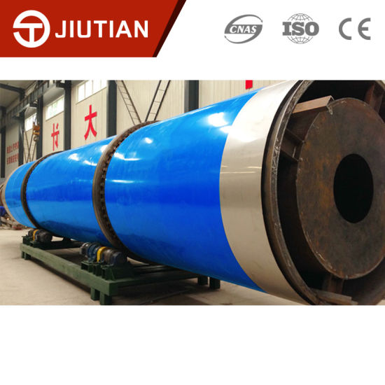 Hot Selling Fermented Soybean Meal Rotary Drum Dryer for Feed