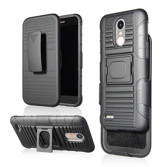 2017 Trending Phone Case with Kickstand for LG K10 2017 Case