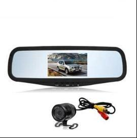 New 4.3 Inch Custom TFT LCD Mirror Car Monitor Digital Display Screen pictures & photos