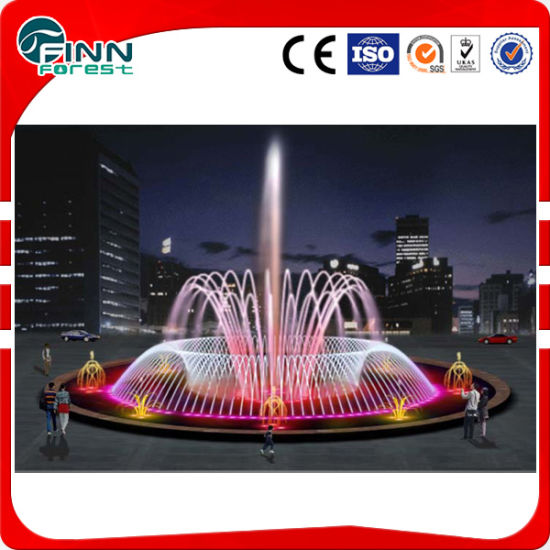 6m Diameter Outdoor Music LED Underlight Water Garden Fountain pictures & photos