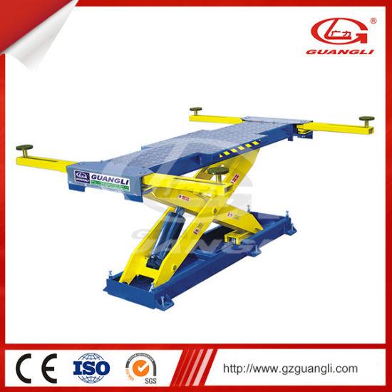 Factory Supply High Quality One Hydraulic Cylinder Scissor Car Lift for Car Garage with Ce