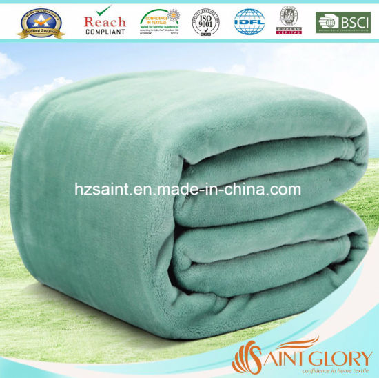 Wholesale Cheap Price Flannel Fleece Blanket for All Season pictures & photos