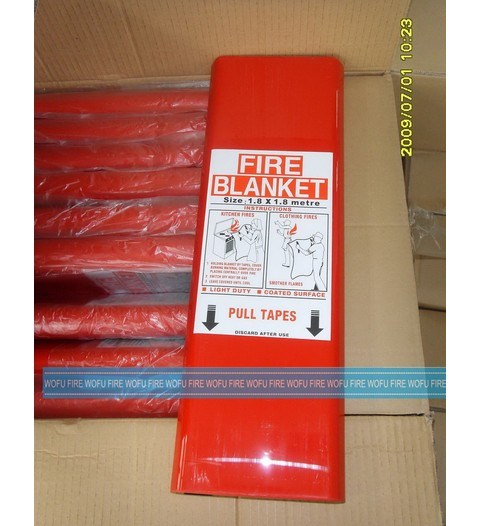 Fire Fighting Escape Used Fire Blanket pictures & photos