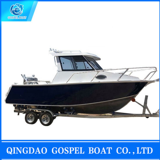 China Small Aluminum Yacht Boat for Sale