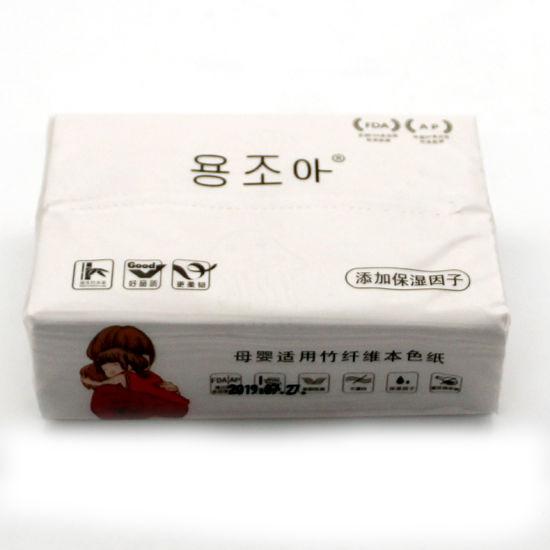 Soft Facial Tissue Paper Virgin Bamboo Pulp Factory Wholesale Tissue