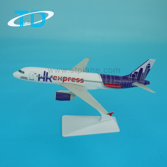 HK Express A320 (18cm) Plastic Assembled Model Craft pictures & photos