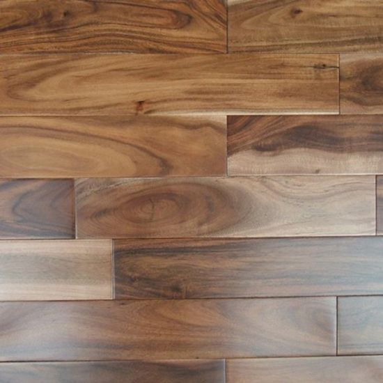 Solid Acacia (China Walnut) Hardwood Flooring pictures & photos