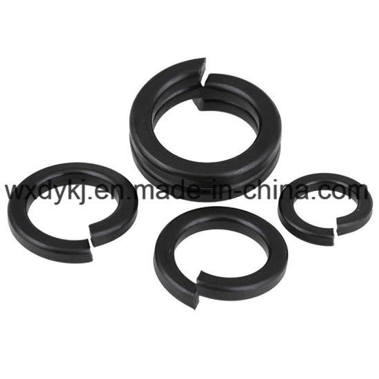 DIN 127 Black Oxide Carbon Steel Spring Lock Washers