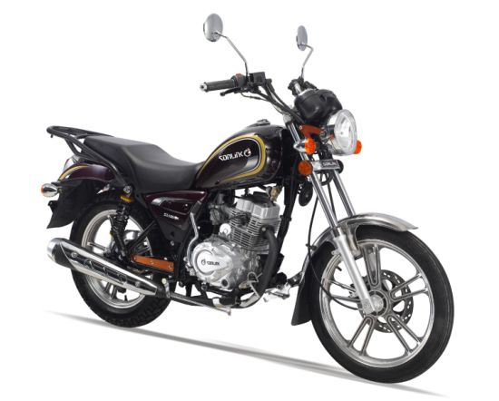 125cc/150cc New Double Mufflers Street Disc Brake Motorcycle (SL150-N1)