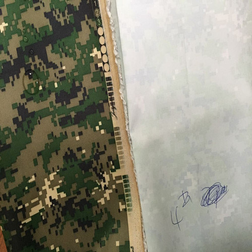 Coated Military Camouflage Fabric of 100% Polyester Oxford Fabric pictures & photos