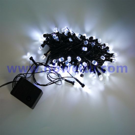 Factory Wholesale Indoor Decoration 3/5/10/20/30/50/100m LED Diamond Fairy String Light pictures & photos