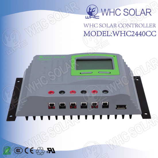24V Easy to Install Solar Panel Charge Controller pictures & photos