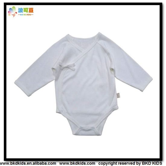 Soft Bamboo Baby Clothes Kimono Style Newborn Onesie