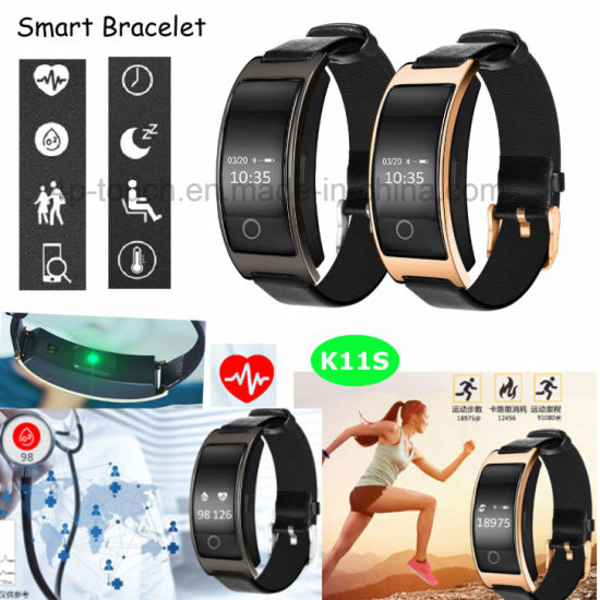 Pedometer Bluetooth 4 0 Smart Bracelet with Blood Pressure Monitor