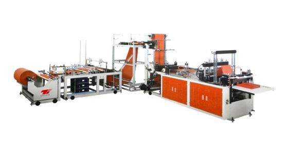 High Speed Computerized Automatic Non-Woven Bag Making Machine