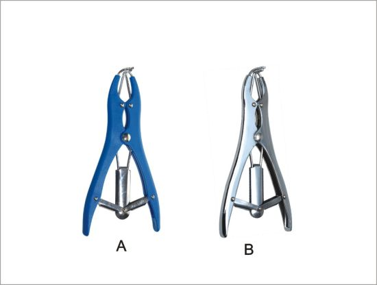 Elastrator Stretching Forceps for Animal Use (KD704)