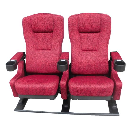 Rocking Cinema Auditorium Seat Luxury Reclining Cinema Chair (EB02DA) pictures & photos