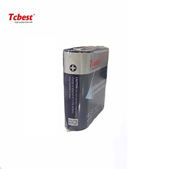 Tcbest Super Heavy Duty OEM Accept High Capacity 4.5V Super Heavy Duty 3r12 150mins Size Battery Non-Rechargeable Battery