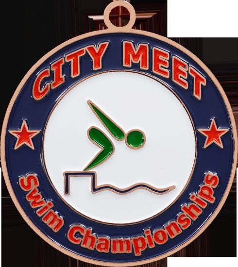 Custom Marathon Metal Sport Race Running Award Medal for Sport