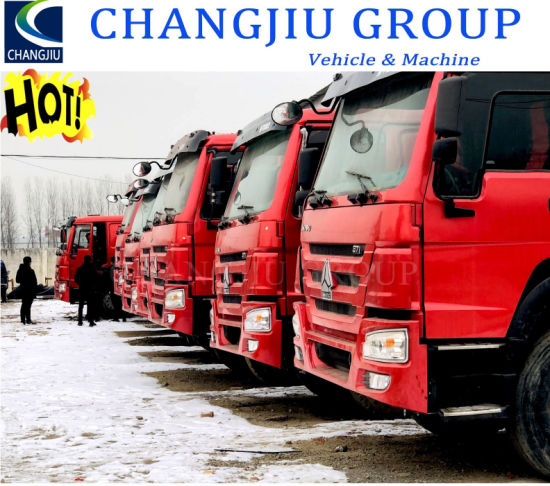 China Used 10 Wheels 351-450HP 20 Cubic Meters Sinotruk HOWO Tipper Dump Truck for Sale