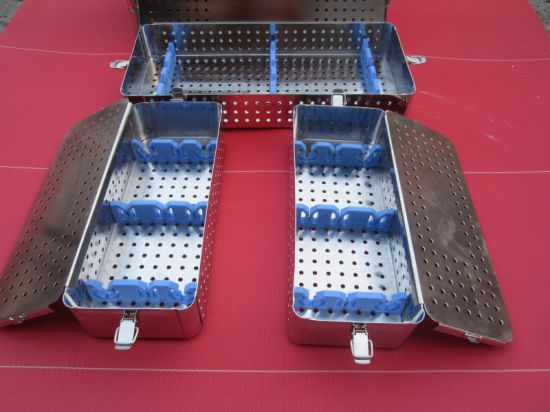 Perforated Instrument Sterilizing Trays pictures & photos