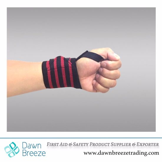 Sports Performance Gym Wrist Strap with Thumb Loop