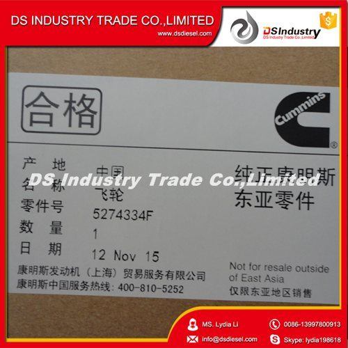 Dongfeng Use Cummins 5.9L Isbe Engine Original Flywheel 5274334 pictures & photos