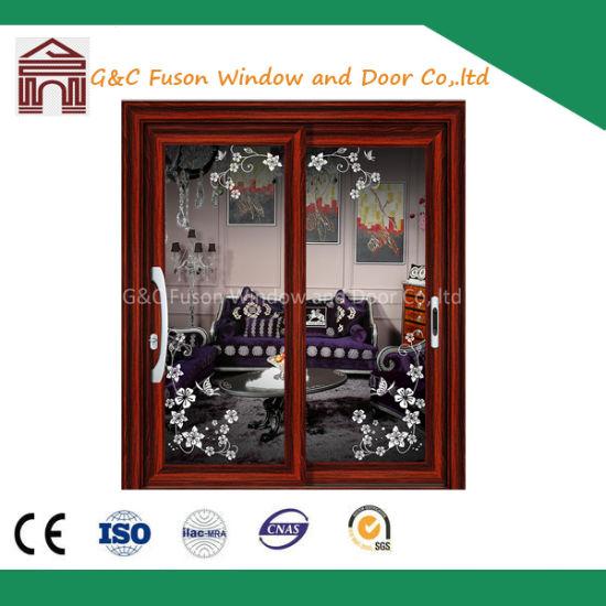Accordion Aluminum Door 2 panel Sliding Doors Aluminum Patio Door  sc 1 st  Foshan Fuxuan Window \u0026 Door Co. Ltd. & China Accordion Aluminum Door 2 panel Sliding Doors Aluminum Patio ...