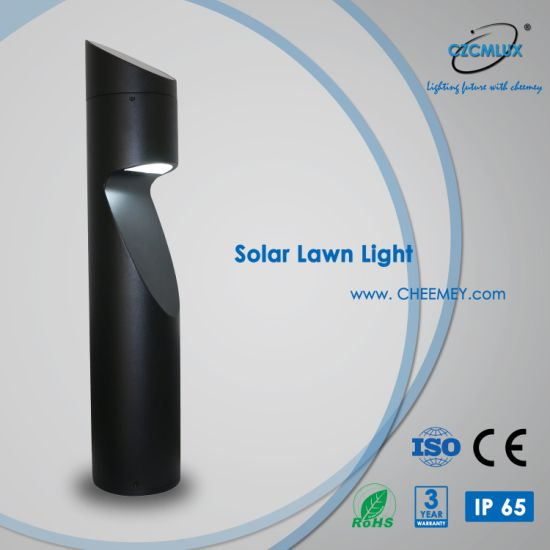 3 Years Warranty Outdoor Solar Bollard Light for Walkway Parks