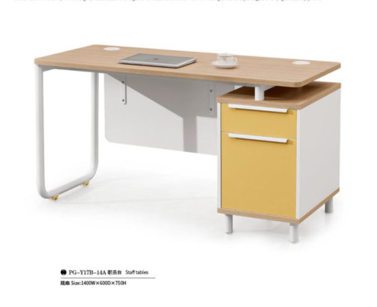 Melamine MDF Office Staff Desk pictures & photos