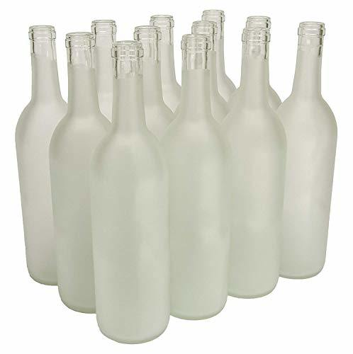 750ml Glass Bordeaux Wine Bottle Flat-Bottomed Cork Finish