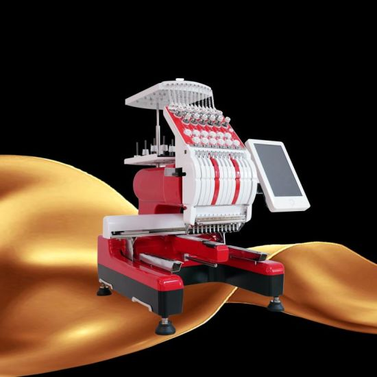 After-Sales Service! ! ! Single Head Computer Embroidery Machine High Speed Multi Function Hat T-Shirt Gamrment Embroidery Machine Made in China