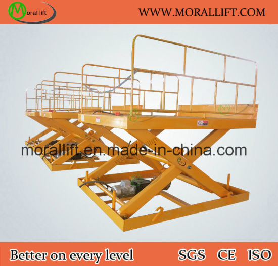 Heavy Duty Stationary Scissor Lift Table pictures & photos