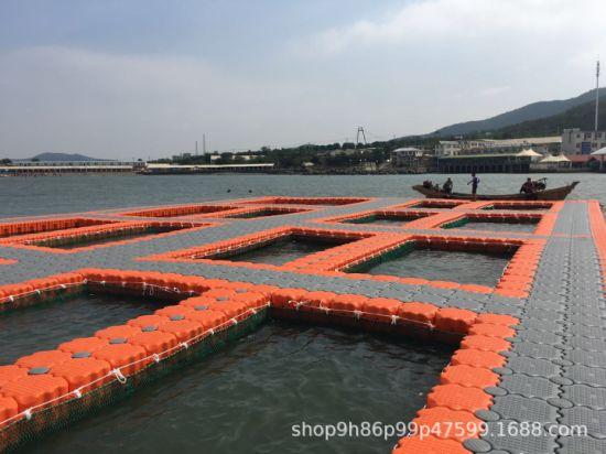 Water Platform Floating Floating House Pavilion Dock Pontoon for Marina