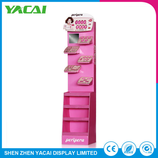 Durable Paper Connect a Stand Wholesale Display Rack for Stores pictures & photos