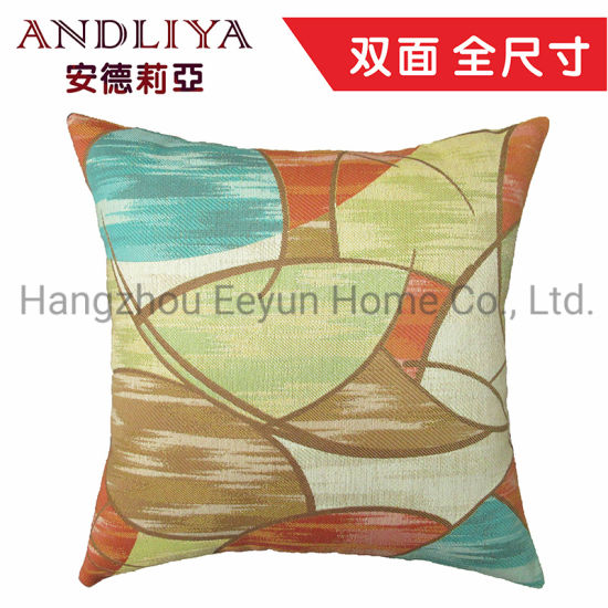 Modern Soft Smooth Handle, Jacquard Sofa Cushion and Throw Pillow for Sofa, Hotel, Car, Chair, Bedding Indoor and Outdoor Decorative pictures & photos