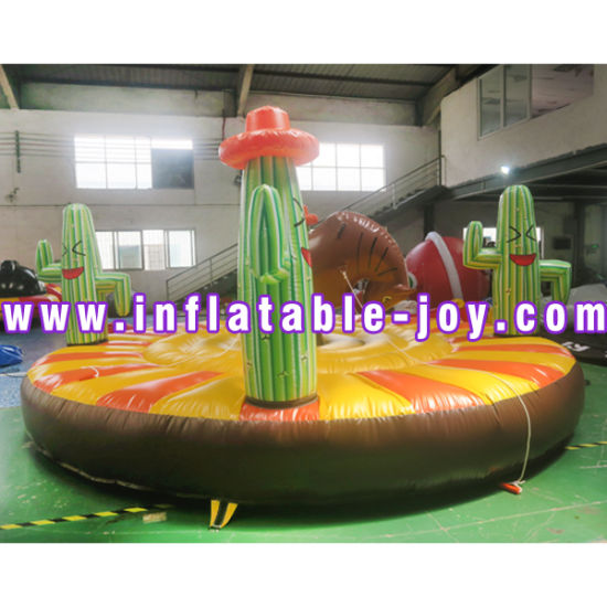 Top Quality Good Price Inflatable Mechacial Rodeo Bull for Amusement Park pictures & photos
