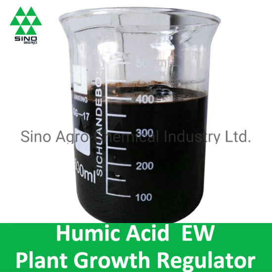 Humic Acid of Plant Growth Regulator Pesticide (100g/l SL, 160g/l SL) pictures & photos
